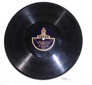 113197 Schellackplatte Odeon