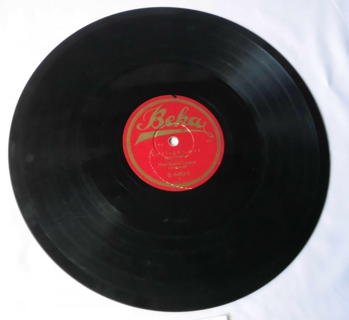 112337 Schellackplatte