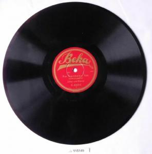 115149 Schellackplatte Beka