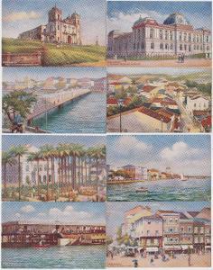69953/8 Ak Pernambuco Brasilien Ortsansichten um 1910