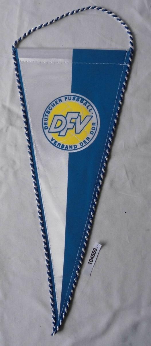DDR Wimpel DFV Deutscher Fussball-Verband (104559) 0