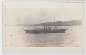 76627 Foto Ak Pilotenboot vor Sydney 3.8.1914