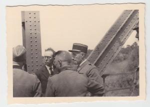 70298 Original Foto gefangener französischer Offizier im 2.Weltkrieg