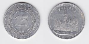 15 Pfennig Aluminium Wertmarke der städt. Straßenbahn Breslau (122877)