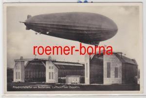 85024 Foto Ak Friedrichshafen am Bodensee Luftschiffbau mit Graf Zeppelin 1935