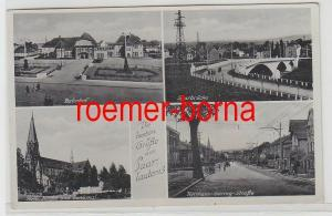 72452 Mehrbild Ak Die besten Grüße aus Saarlautern Saarlouis Bahnhof usw. 1940
