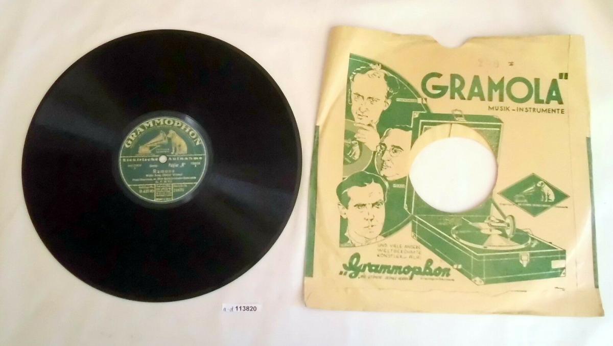 113820 Schellackplatte Lach Clown lach + Ramona, Waltz 1928 0