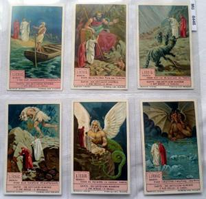 Liebigbilder Serie 986 Dante die Göttliche Komödie I komplett 1929 (6/100939)