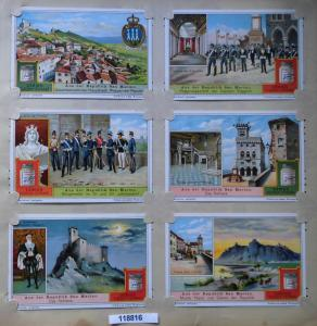 Liebigbilder Serie 898, Aus der Republik San Marino, 1914-1917 (K118816)