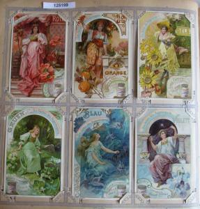 A125199 Liebigbilder Serie Nr. 492 Die Farben des Regenbogens 1901