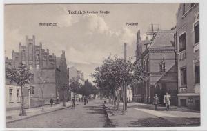 88833 Feldpost Ak Tuchel Tuchola Schwetzer Straße Amtsgericht, Postamt 1916