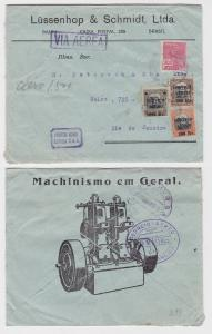 82436 seltener Luftpostbrief Brasilien Rio de Janeiro 1929