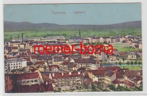 35441 Ak Ljubljana Laibach um 1915