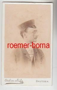 72177 Kabinett Foto Student aus Bautzen um 1900