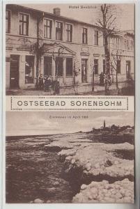 71690 Mehrbild Ak Ostseebad Sorenbohm Hotel Seeblick 1924