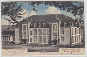 68876 Feldpost Ak Lörchingen in Lothringen Heil- und Pflegeanstalt 1914