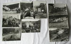 Ansichtskartenmappe mit 6 Karten Schmalspurbahn Wolkenstein-Jöhstadt (94586)