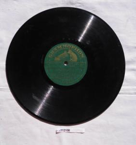 112108 Schellackplatte Grammophon