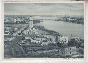 67322 Ak Wikingen Kruschwitz Kruszwica Wasserturm und Goplosee um 1940