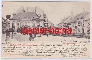 83336 Ak Budapest Ungarn Honved Szobor 1899