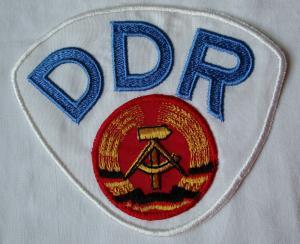 DDR Aufnäher gestickt Nationalmannschaft für OLYMPIA WM und EM (133936)