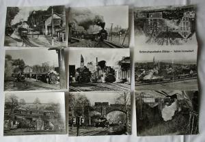 Ansichtskartenmappe mit 6 Karten Schmalspurbahn Zittau - Oybin/Jonsdorf (94587)