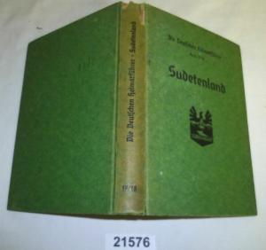 Sudetenland - Die deutschen Heimatführer Band 17/18 von 1939