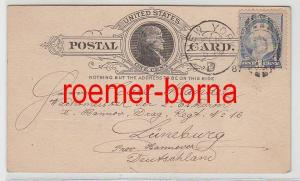 82321 Postkarte New York USA 16.12.1887
