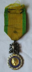 Frankreich Orden Militärmedaille Valeur et Discipline 1870 am Band (125437)