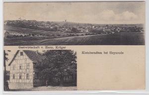 69226 Mehrbild AK Kleinberndten bei Heynrode, Gastwirtschaft von Herm. Krüger