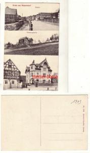 80153 Mehrbild Ak Gruss aus Harpersdorf Strasse, Gesensungsheim, Geschäft um1910