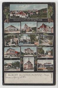 70410 Mehrbild Ak Kurort Klosterlausnitz in Thüringen 1923
