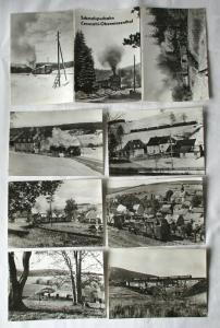 Ansichtskartenmappe mit 6 Karten Schmalspurbahn Cranzahl-Oberwiesenthal (94589)