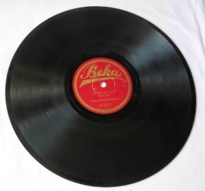 119203 Schellackplatte Beka-Militär-Orchester Marsch