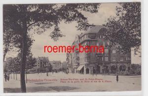 85186 Ak Diedenhofen Thionville Metzer Tor Platz & St.Peter Straße um 1910
