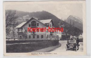 72864 Ak Gasthof Post Tannheim in Tirol 1921