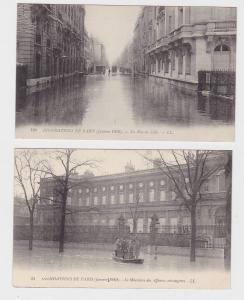68774/2 Ak Paris Hochwasser Januar 1910