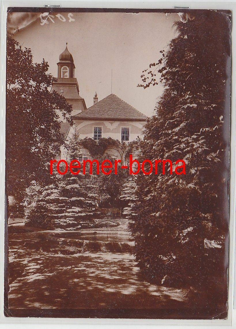 76711 Original Foto Glaubitz Schloss um 1930 0