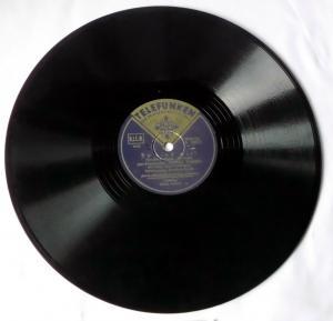 110760 Schellackplatte Telefunken