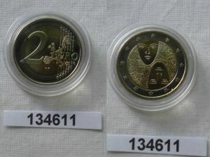 2 Euro Bi-Metall Münze Finnland Parlamentsreform 2006 Stempelglanz (134611)