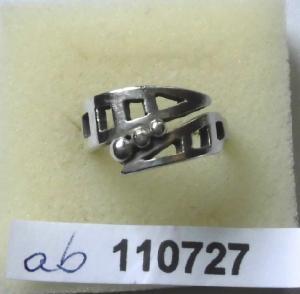 Moderner Damenring 925er Silber  (110727)
