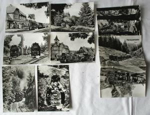 Ansichtskartenmappe mit 6 Karten Harzquerbahn Folge 1 (94591)