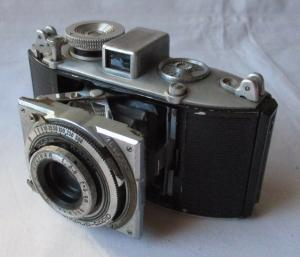 Klappkamera Agfa Karat Compur-Rapid Solinar 1:3,5 f= 5 cm (130032)
