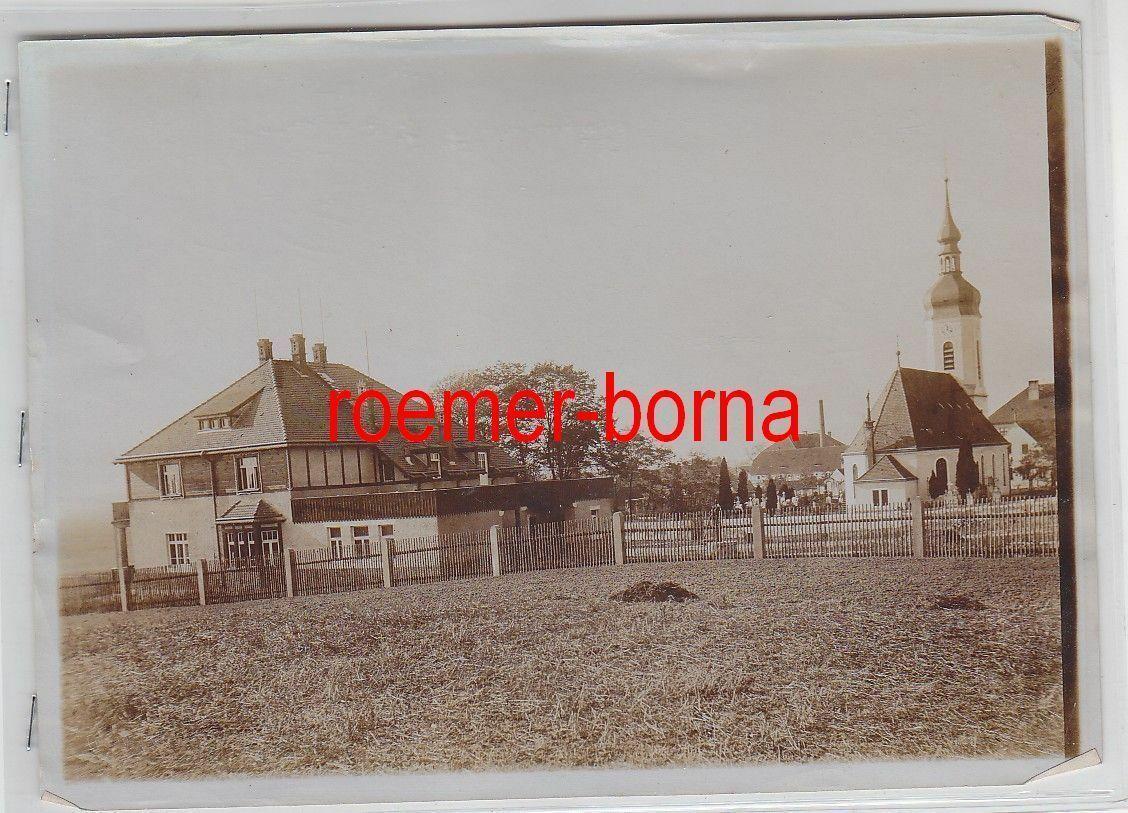 76935 Original Foto Röderau Dorfansicht um 1930 0