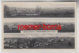 75259 Mehrbild Ak Teilansichten von Neundorf über Löbau um 1940