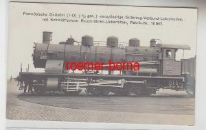 20597 Ak Dampf Lokomotive Französische Ostbahn um 1920