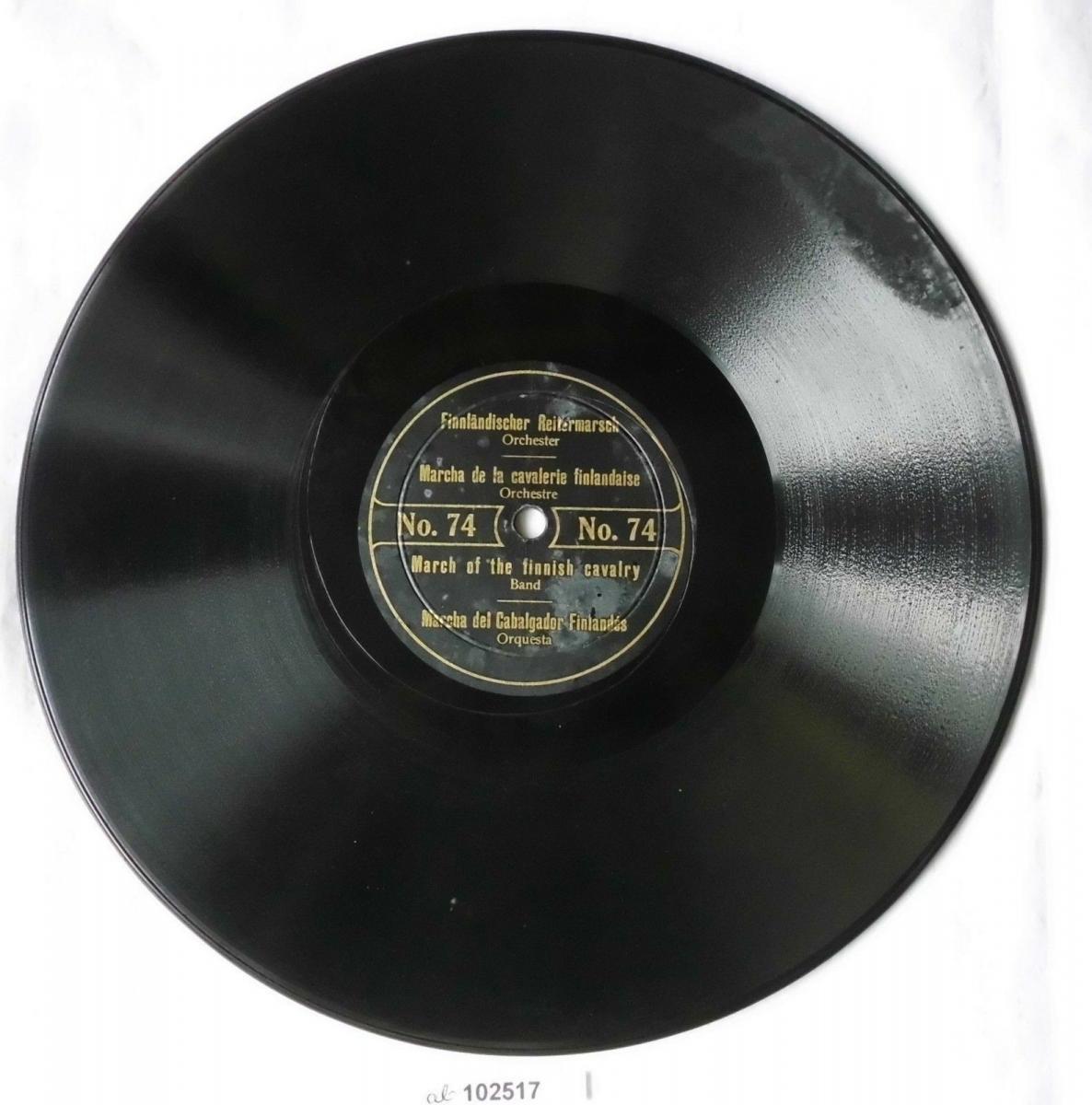 102517 Schellackplatte