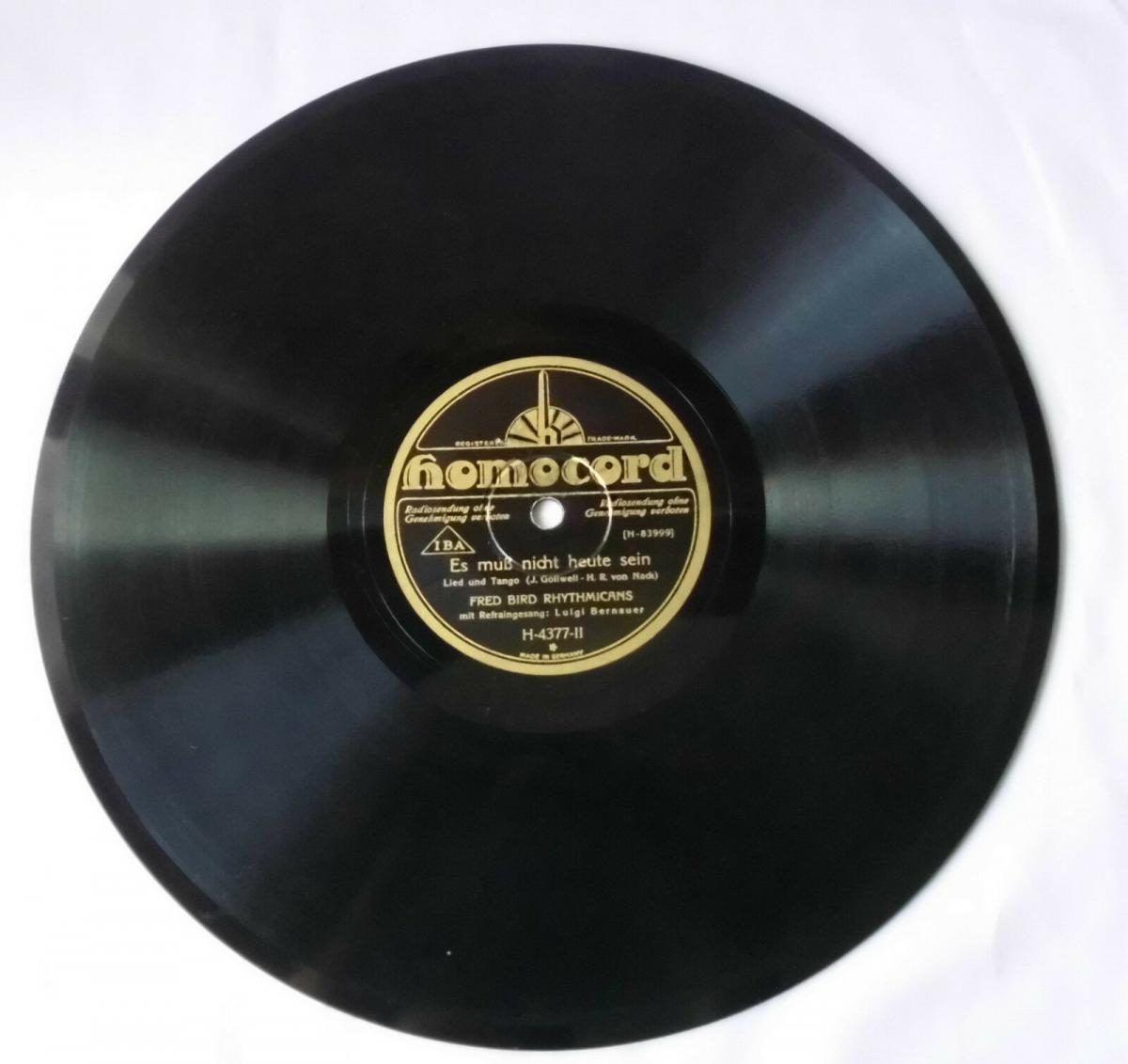 116190 Schellackplatte