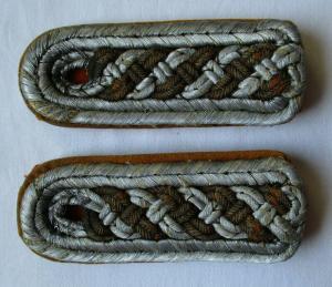 Seltenes Paar Schulterstücke Feldgendarmerie ? 2. Weltkrieg (115125)