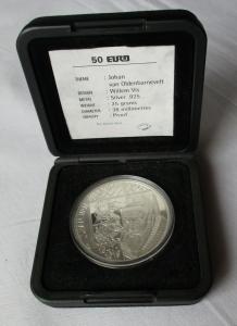 50 Euro Silbermünze Niederlande Johan van Oldenbarnevelt 1997 (130012)